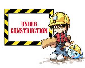 under construction - girl
